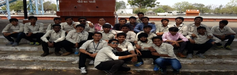 Visit to Jetalsar Junction was arranged for 6th and 4th Semester students in 2015